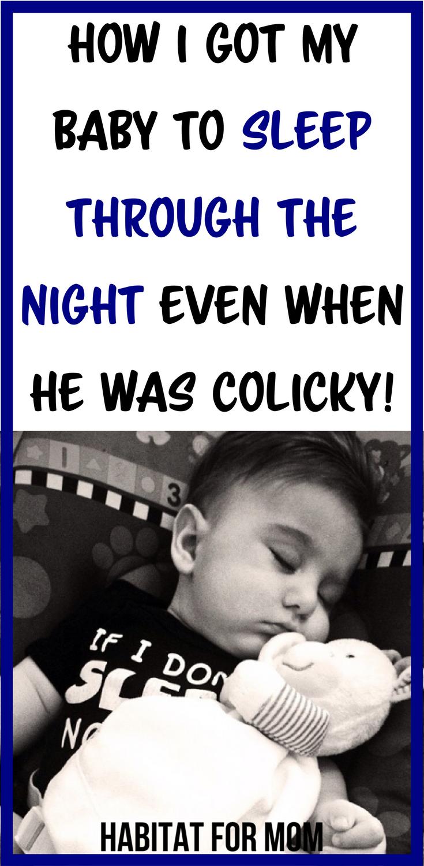 0460ce63281c How I Got My Fussy Baby To Sleep Through The Night