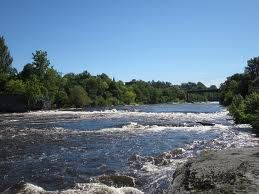 Sitting At The River Watertown New York Most Think New York Is
