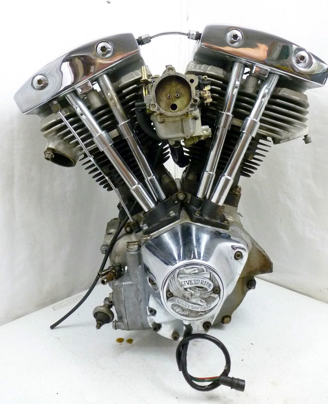 Shovelhead Engine Diagram Blue Sea Add A Battery Wiring Oem Harley Davidson 1981 Flt Tour Glide 1340
