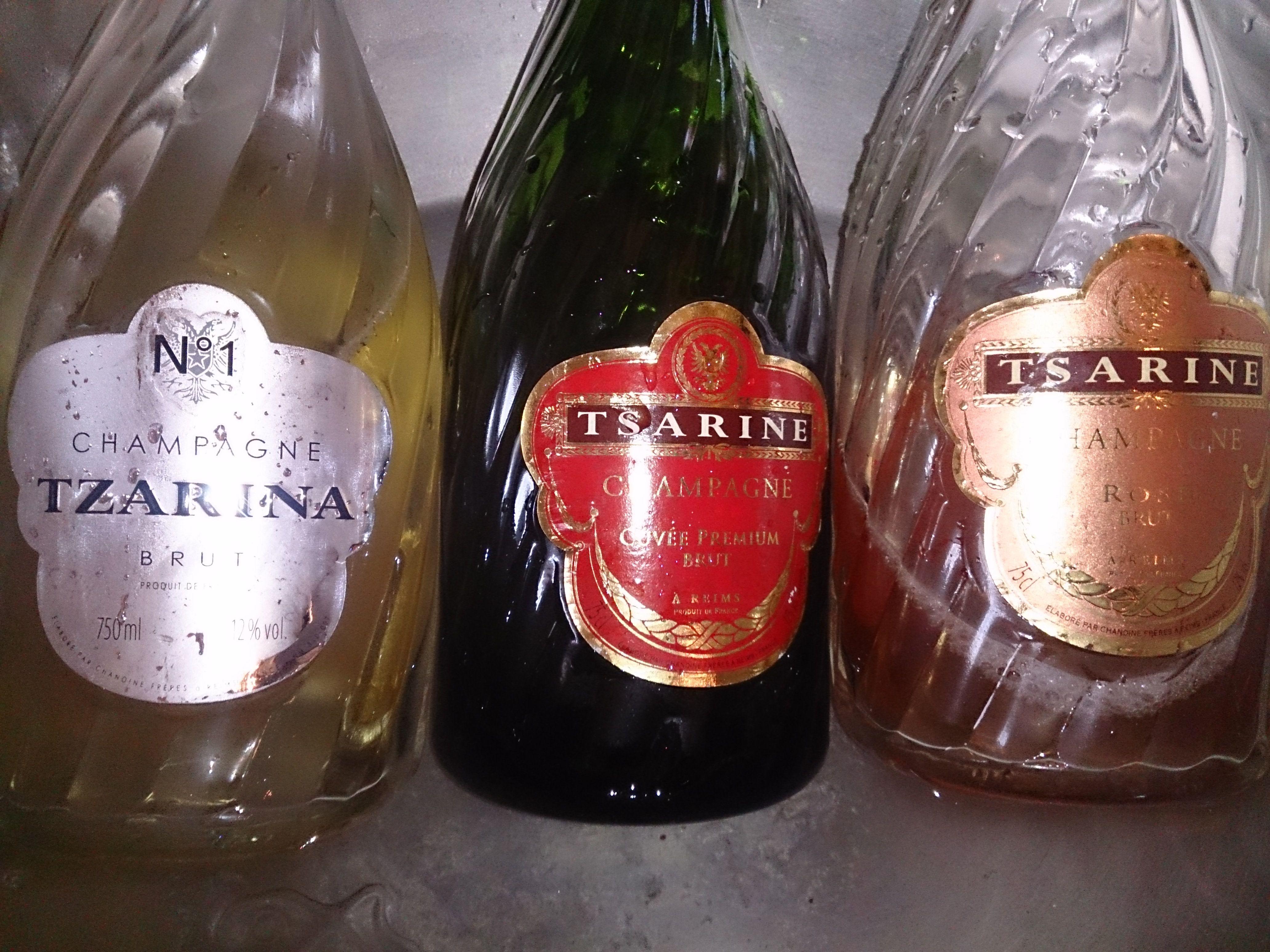 Tsarine Champagne Champagne Banqueting House Whitehall
