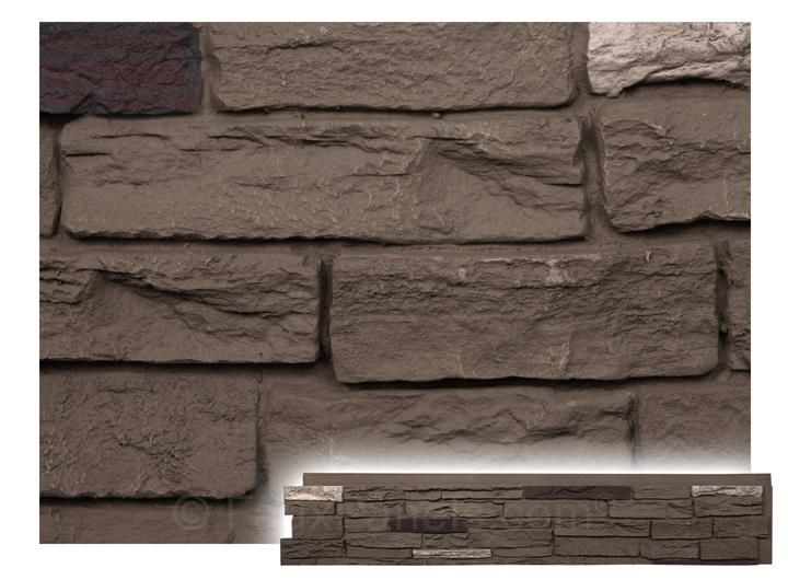 Windsor Slatestone Onyx Panel W 43 1 4 H 8 1 2 1 3 4 Thick Faux Stone Walls Faux Stone Siding Stone Panels