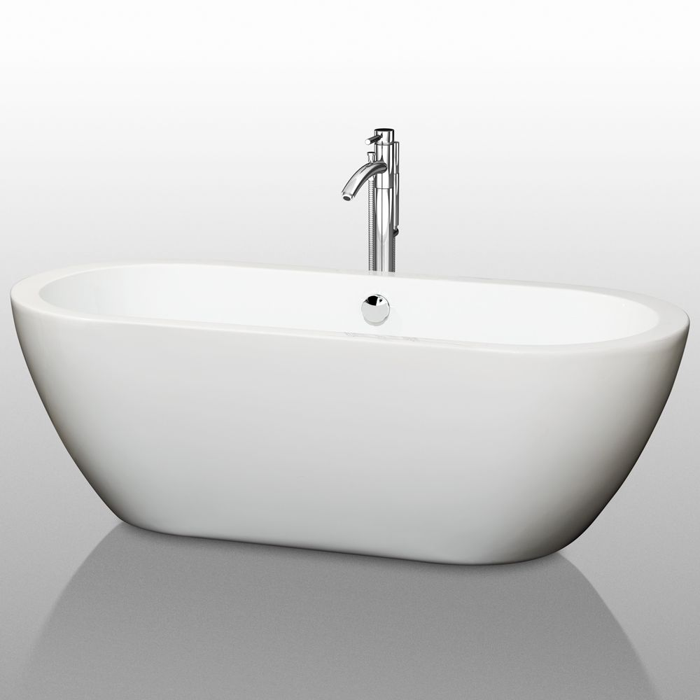 The Soho Soaking Bathtub by Wyndham Collection. Find features, specs ...