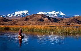 Titicaca Lake (Bolivia) y mi Illimani querido!  :O)