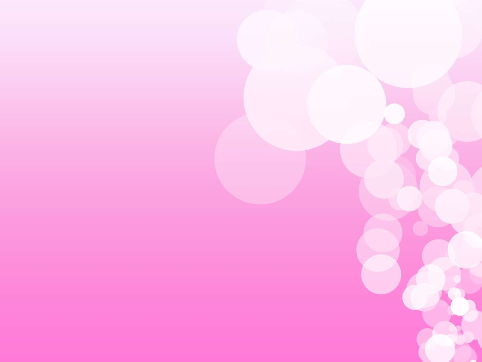 Beautiful Templates - Simple Floral Pink Lights Power Point Backgrounds,