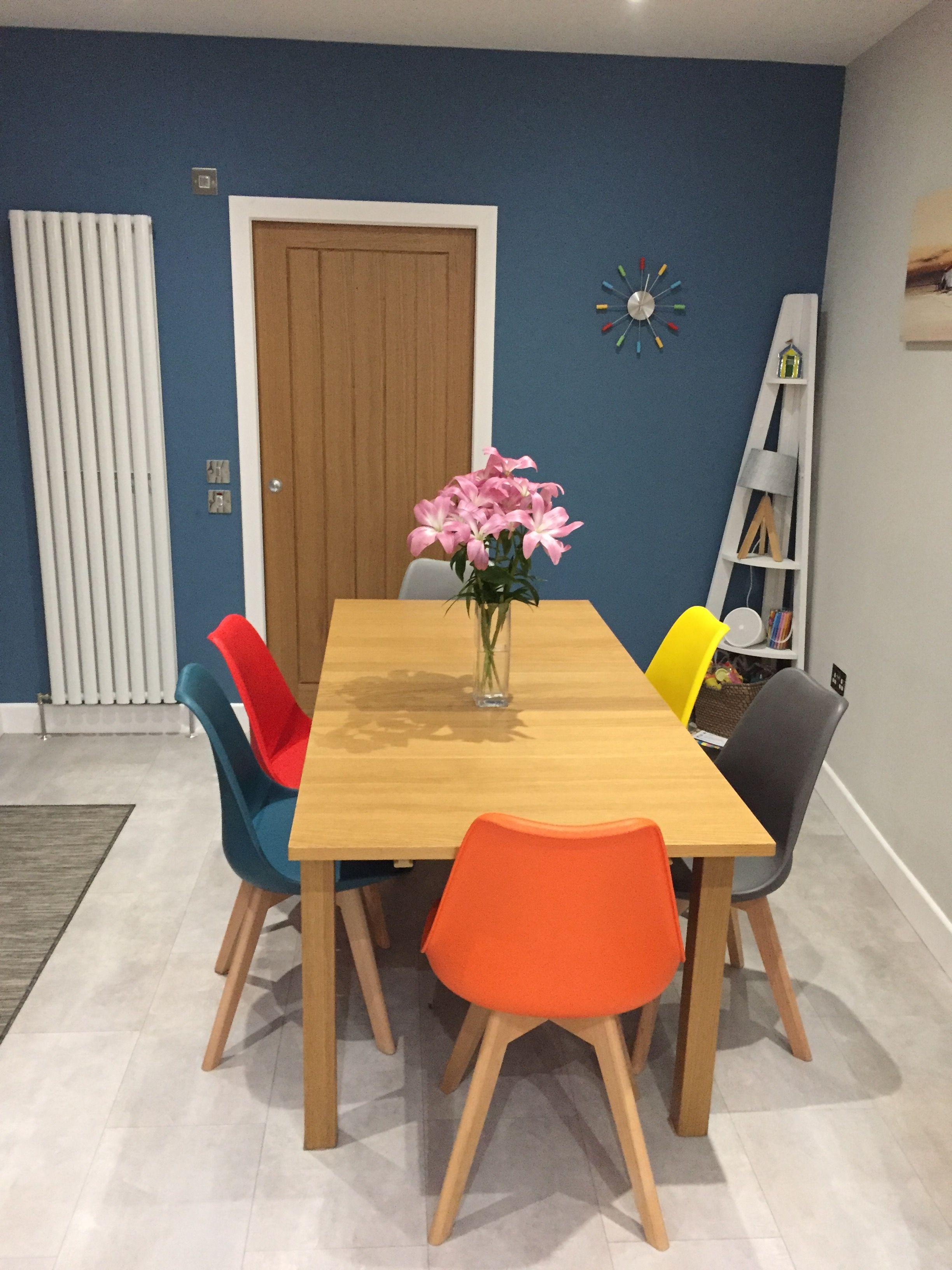 huge selection of ba415 15892 Multi coloured tulip dining chairs | Amenajari in 2019 ...
