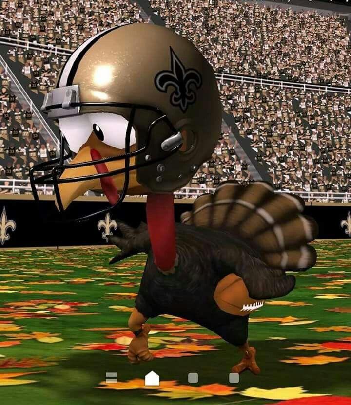 New Orleans Saints Turkey. Happy Thanksgiving New