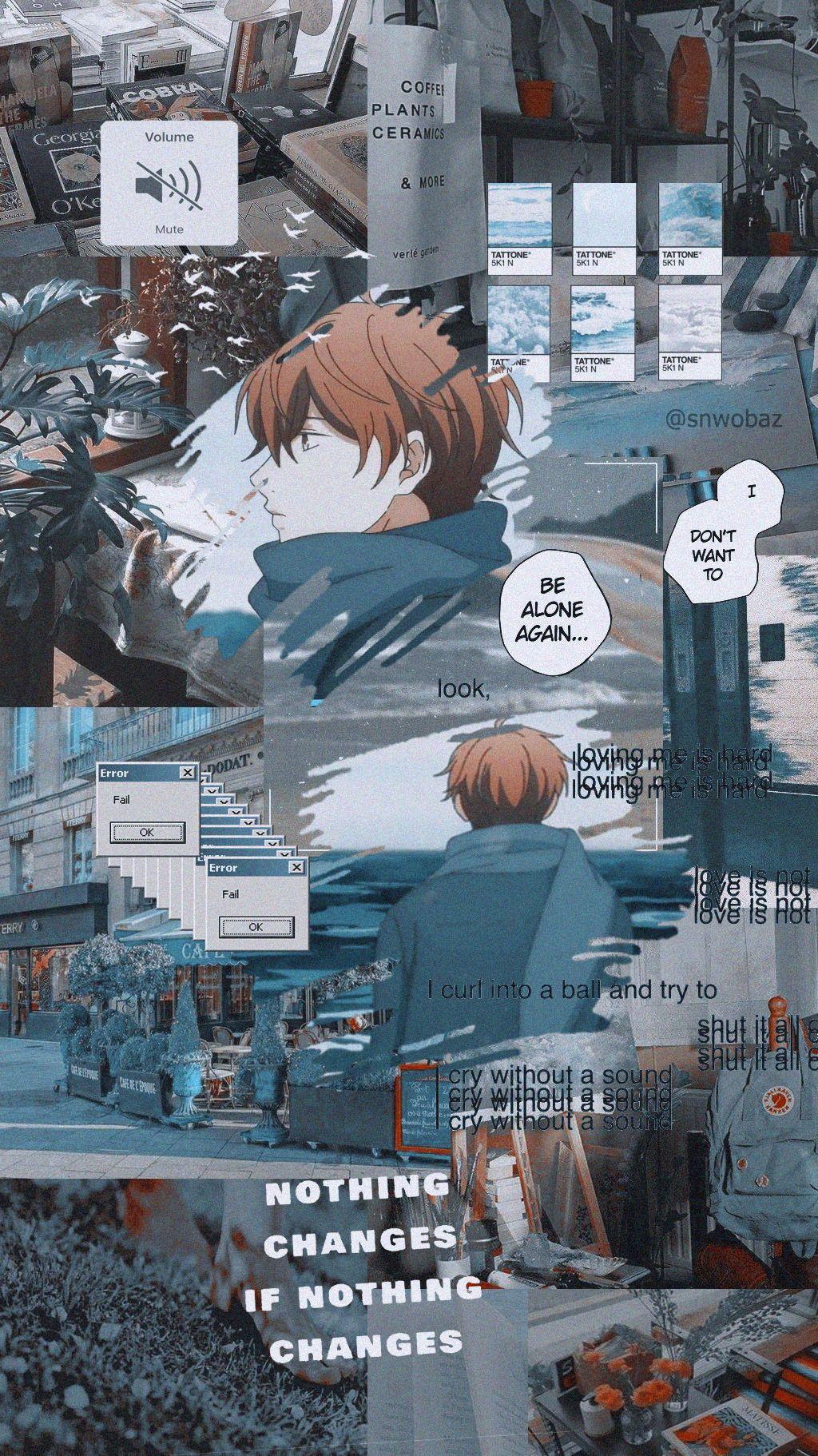 ɢɪᴠᴇɴ ϟ ᴍᴇᴍᴇs Anime estético, Fondo de anime y Fondos de
