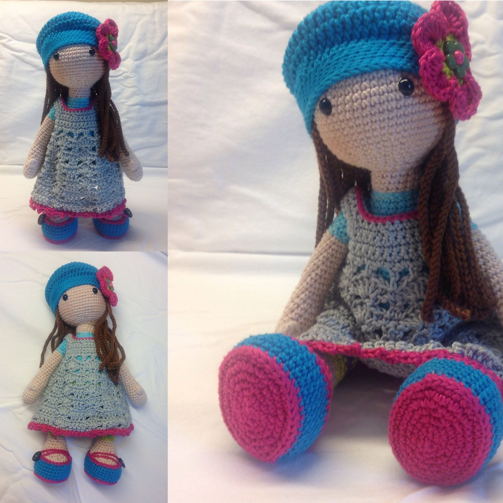 Doll LILLY pattern by CAROcreated design | Muñecas, Patrones ...