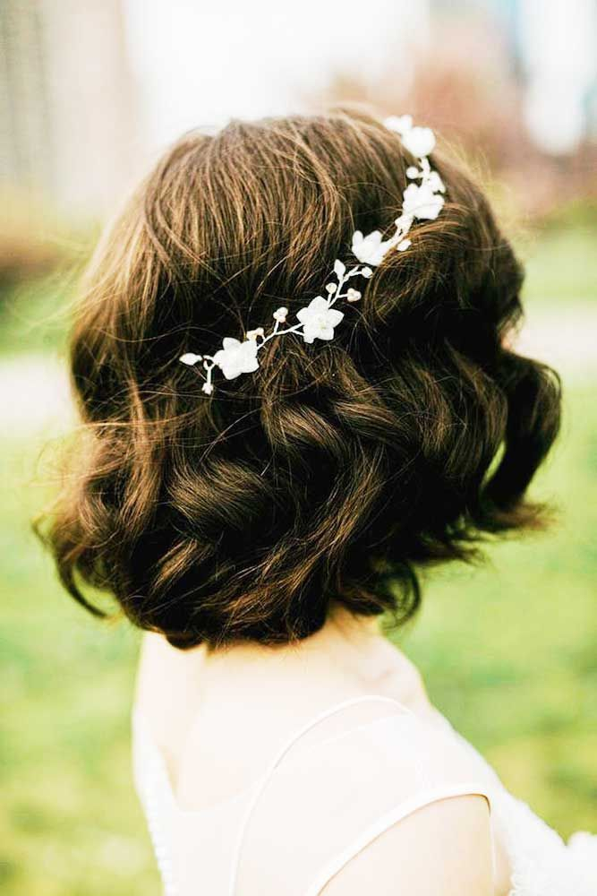 Stylish Easy Wedding Hairstyles ❤ See more: http://www ...