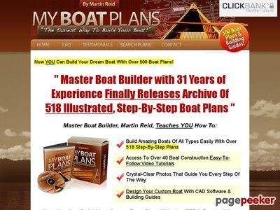 Myboatplans 518 Boat Plans  Earn $70.65 Per Sale!  $5 Bonus!