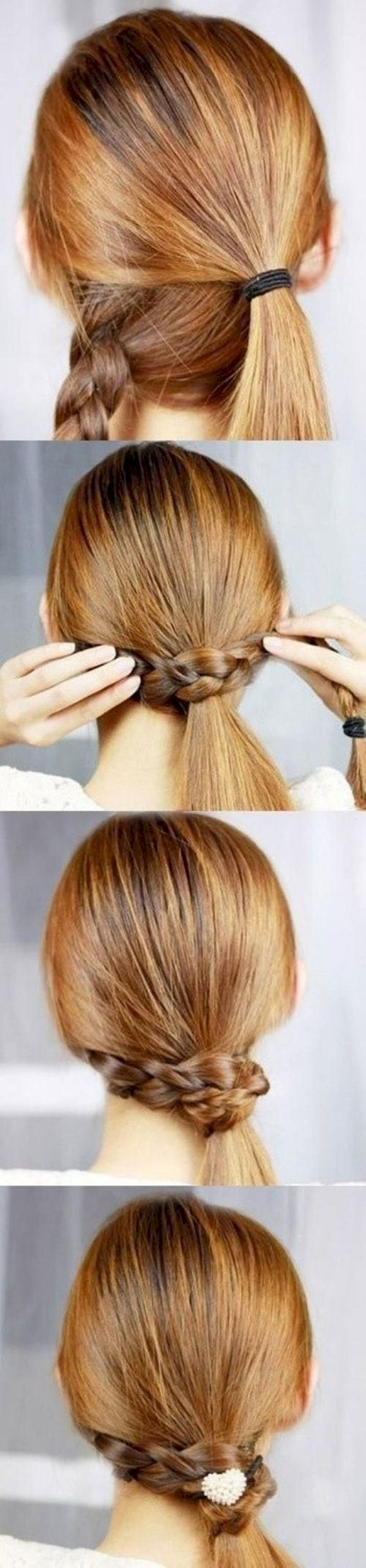 easy summer hairstyle to do yourself hair ideas pinterest
