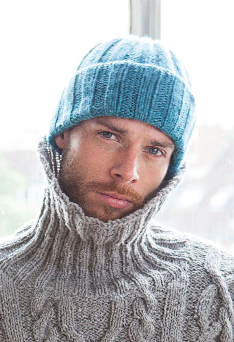 Mütze Alta Moda Cashmere 16 Filati Mann No 8 Knitting Knitting