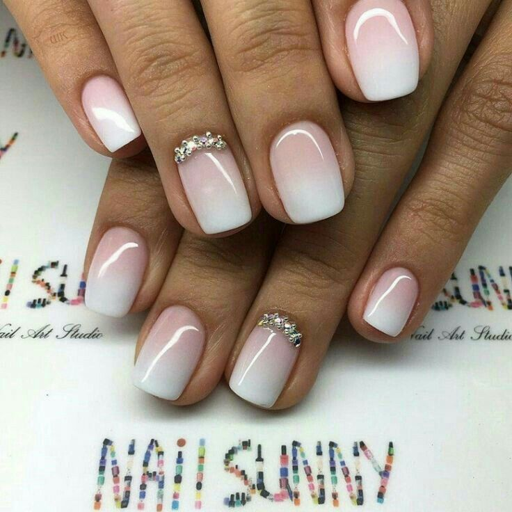Pin by They Andrea on Nails | Pinterest | Nail wedding, Wedding ...