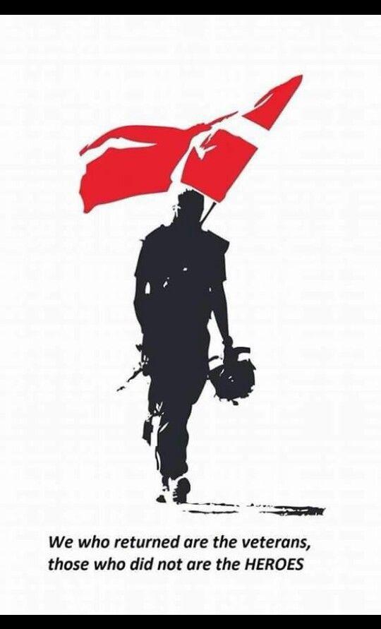 Soldier Shadow With Danish Flag Med Billeder Militaer Tatoveringer