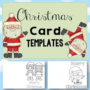 FREE Christmas Card Templates Writers\u0027 Workshop Christmas card
