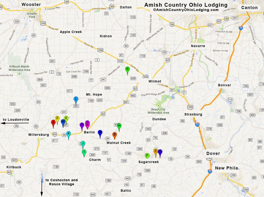 amish country ohio | Amish-Country-Ohio-Lodging-Google-Map ...