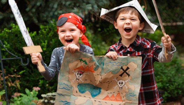 schnitzeljagd f r den piraten kindergeburtstag kinder pinterest birthdays. Black Bedroom Furniture Sets. Home Design Ideas
