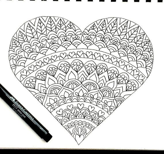 This Item Is Unavailable Heart Coloring Pages Mandala Coloring Pages Coloring Pages