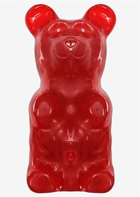 Worlds Largest Gummy Bear 5 Lb Cherry Bear Gummy Bear Flavors Gummy Bear Candy Gummy Bears