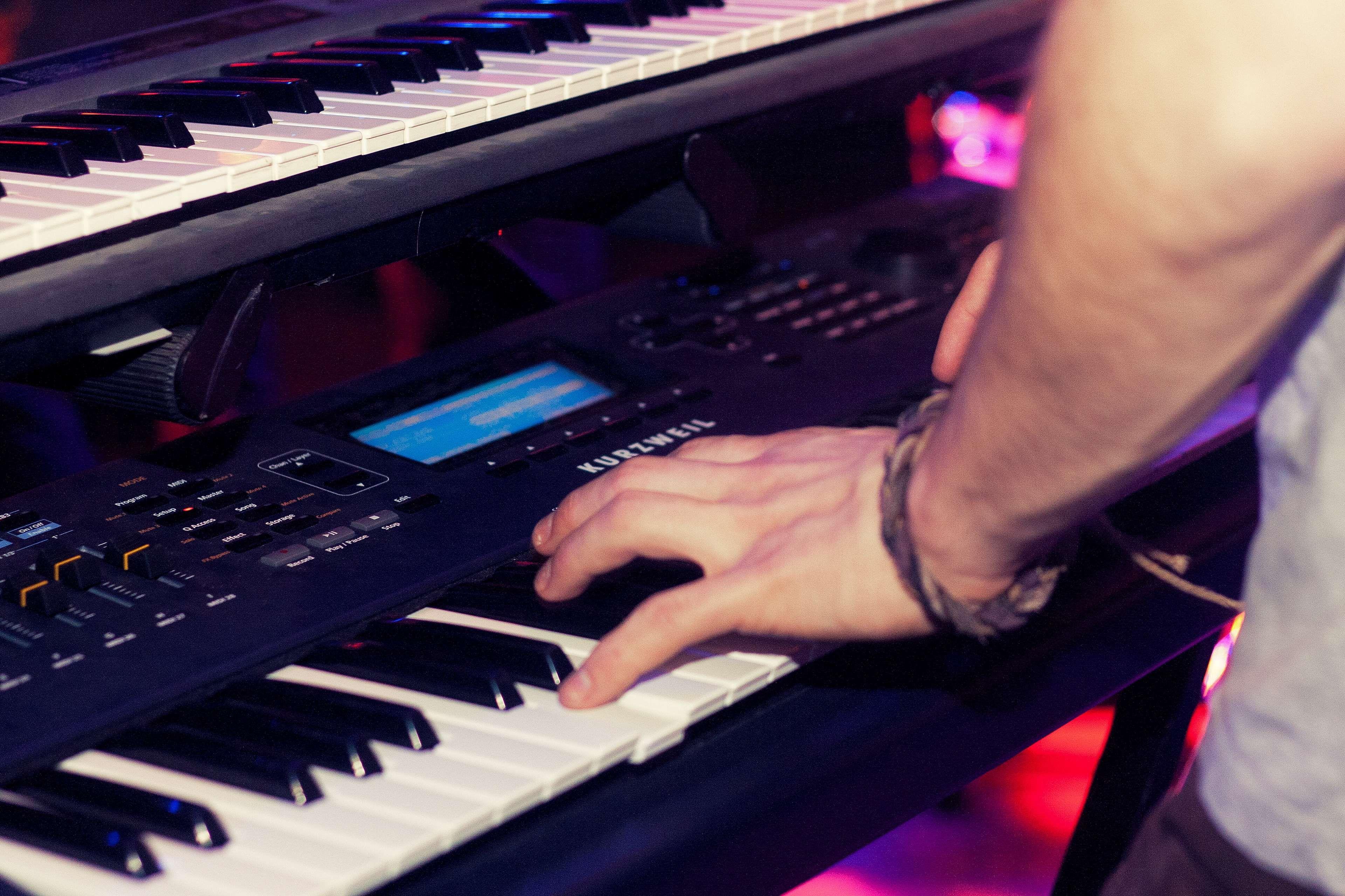 Audio Band Mixing Panel Music Musician Piano Player Studio