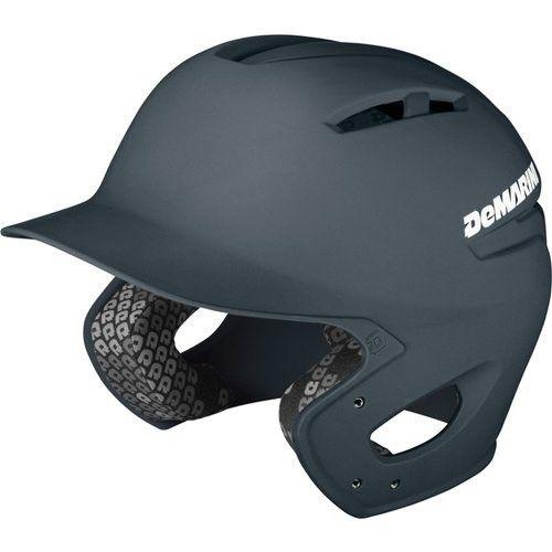 DeMarini Paradox Batting Helmet, Charcoal Grey, Small/Medium