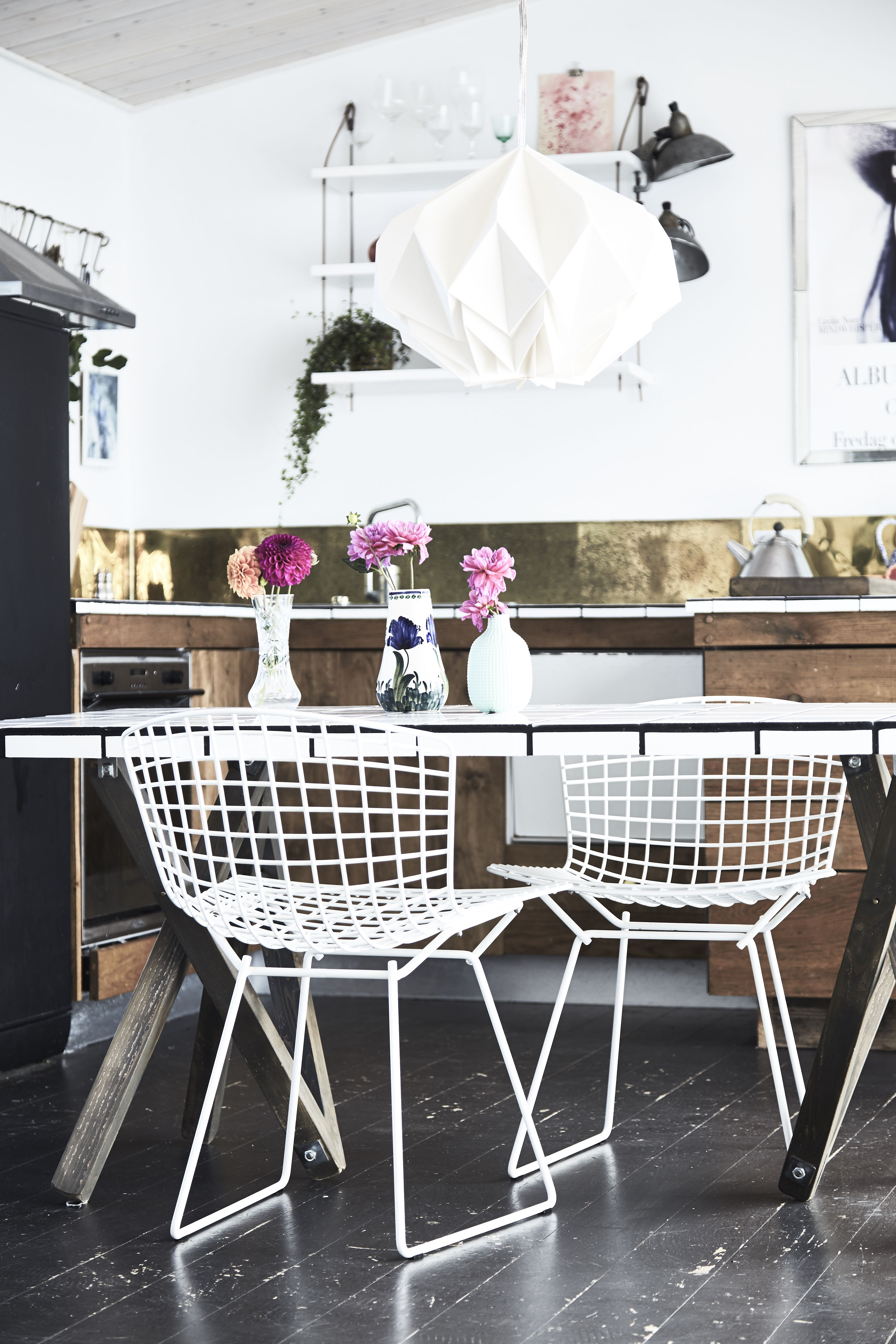 A Chanteuse and a Dancer Turned Furniture Designer at Home in ...