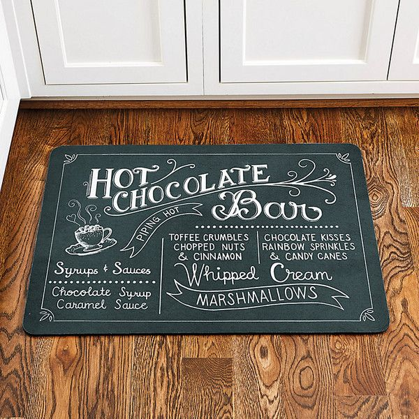 Ballard Designs Hot Chocolate Comfort Mat 75 Liked On