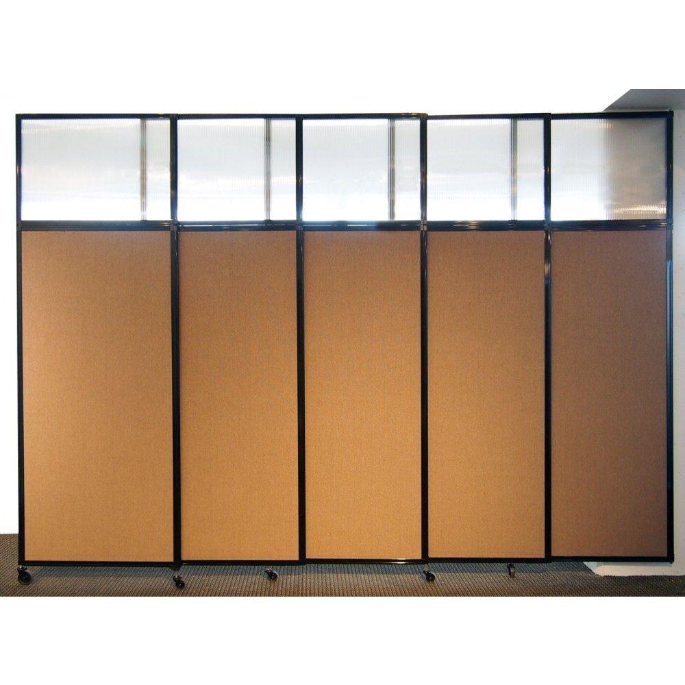 Astonishing tall sliding room divider room divider panel in brown