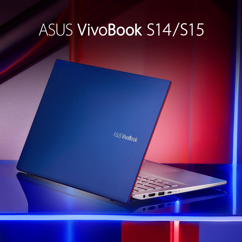 Vivobook S14 15 Cobalt Blue Event Layout Laptop Asus Vivobook S14