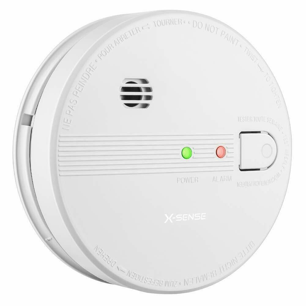Sponsored Ebay X Sense Sd21 10 Year Battery Interconnect Smoke Detector Fire Alarm With Photoel Fire Alarm Smoke Detector Ink Refill