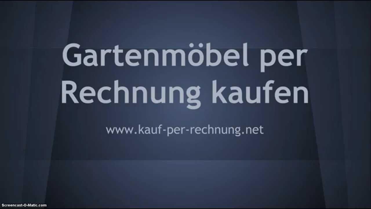 Billig gartenmöbel auf rechnung bestellen | Deutsche Deko