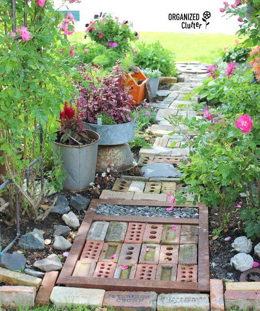 Photo of A Junk Garden Path Can Be A Work Of Art
