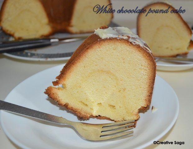 White Chocolate Pound Cake Darth Baker Pinterest Chocolate