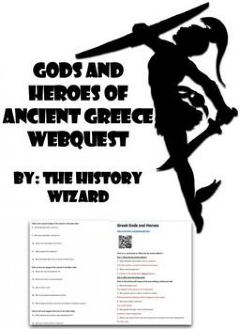 This webquest allows students to learn about the gods and