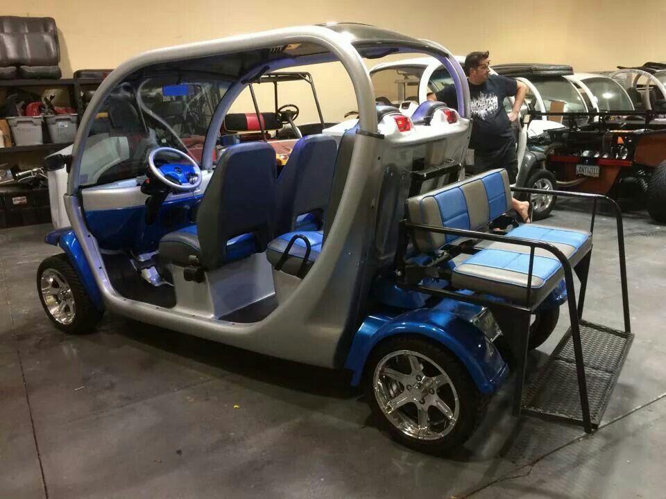 Custom gem car with rear seat upgrade Innovation