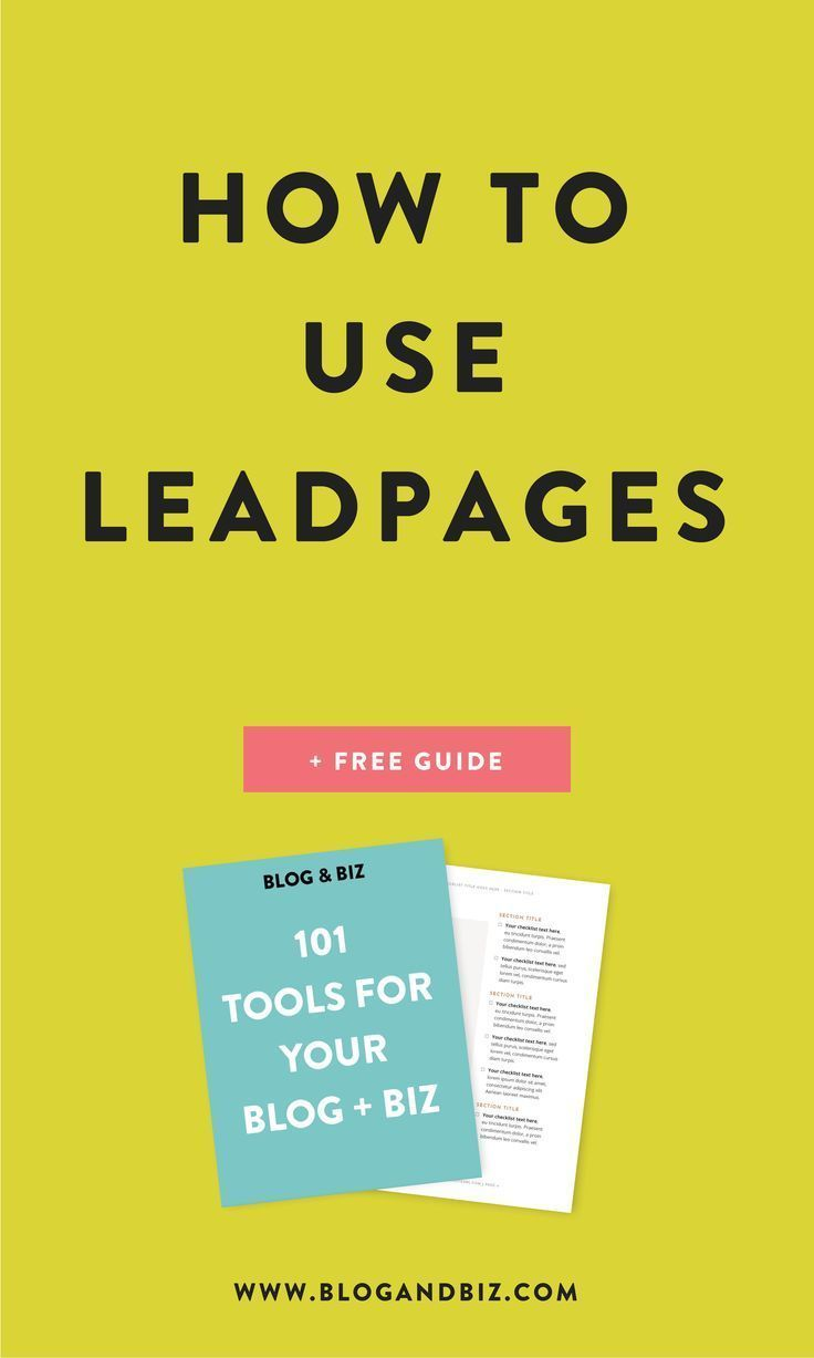 Excitement About What Is Leadpages