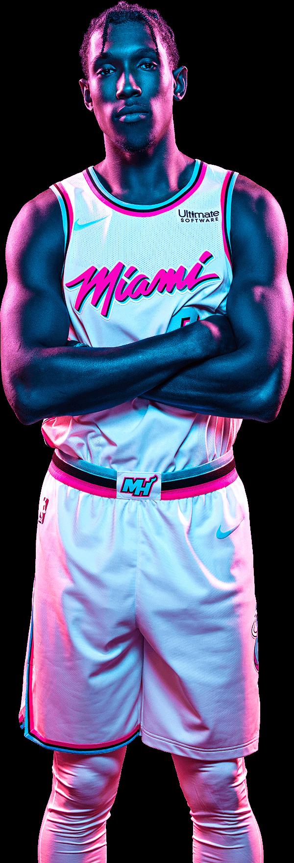 Vice Uniform Josh Richardson Miami Heat Miami Miami Vice