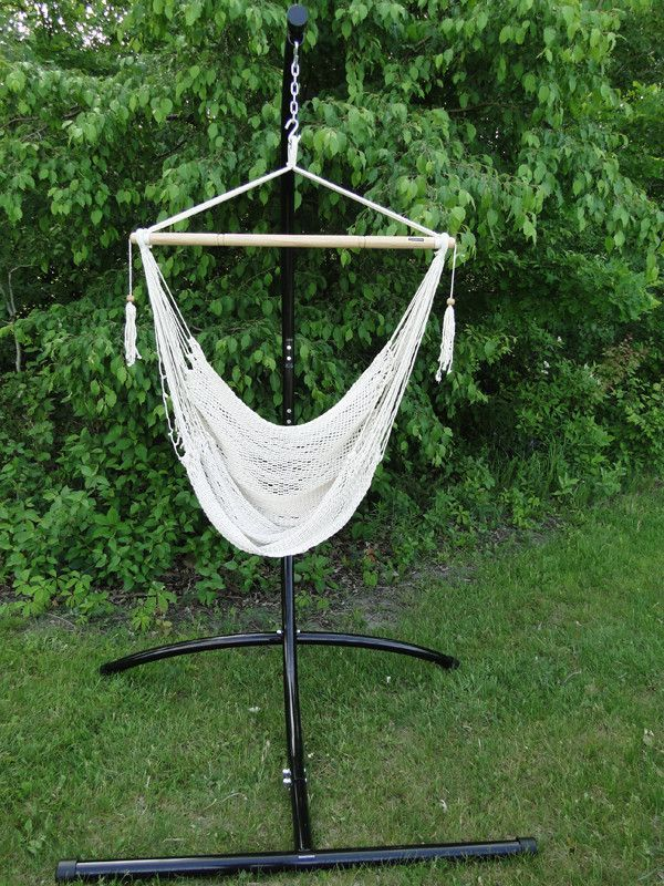 Mayan Hammock Chair with Universal Chair Stand Hammock