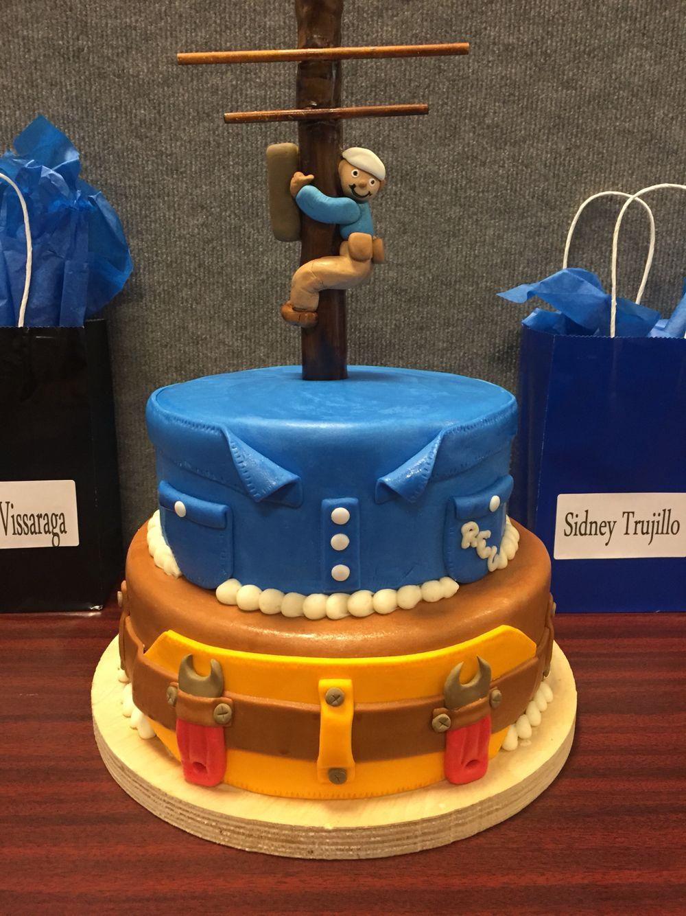Lineman Cake Cake By Mariel Lineman Gifts 30 Birthday