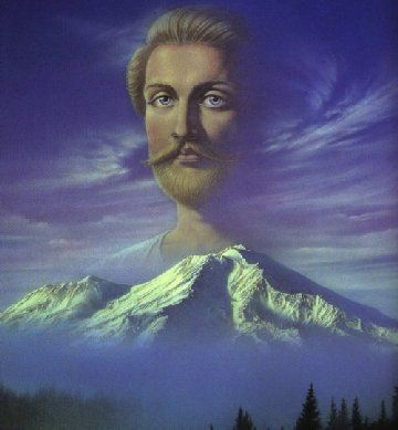 St. Germaine Mount Shasta swag | Saint germain, Mystical places, Invocation