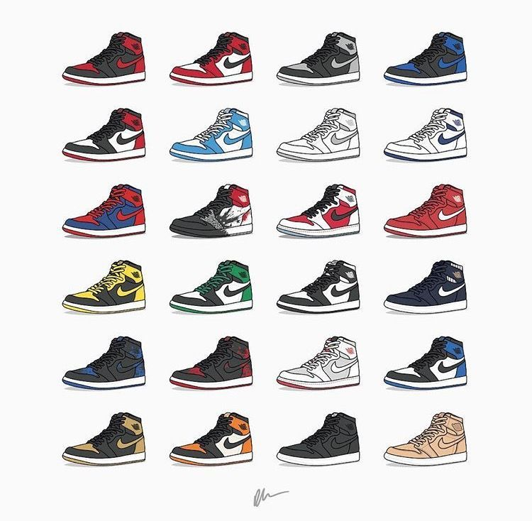Air Jordan 1 Art Jordan Shoes Wallpaper Shoes Wallpaper Air Jordans