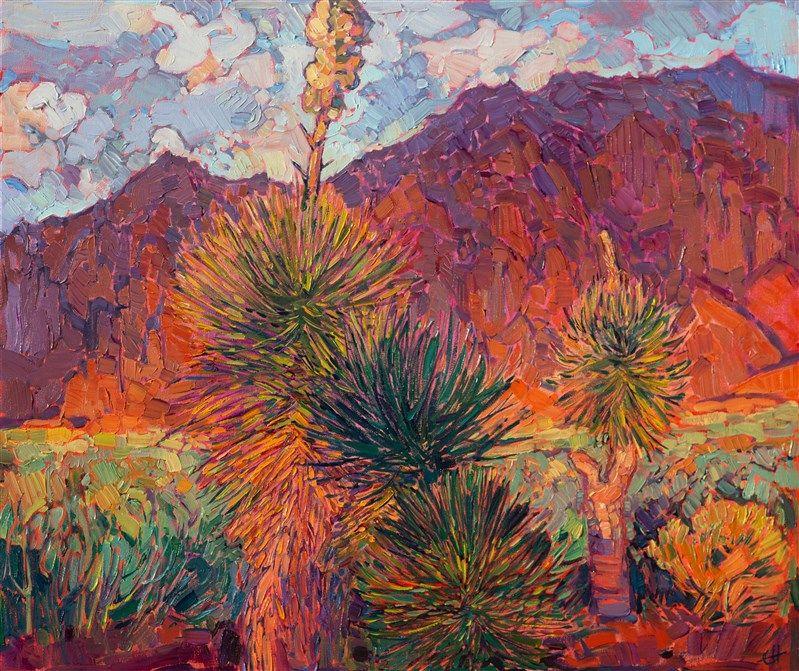 Kayenta Utah Landscape Oil Painting By Contemporary Painter Erin Hanson Oil Painting Landscape Nature Paintings Southwest Art