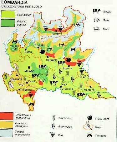 Cartina Dettagliata Lombardia.Geografia Carte Geografiche E Mappe Lessons Blendspace