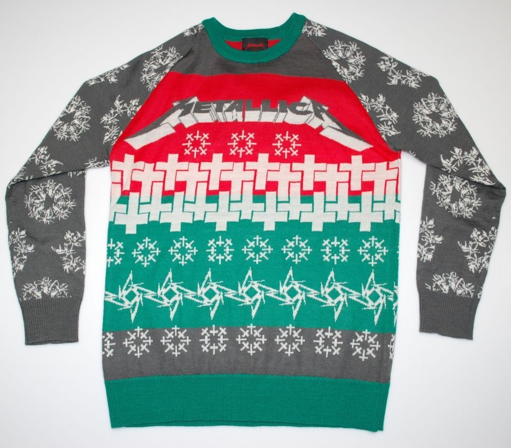 metallica ugly christmas sweater 2013 - Metallica Christmas Sweater
