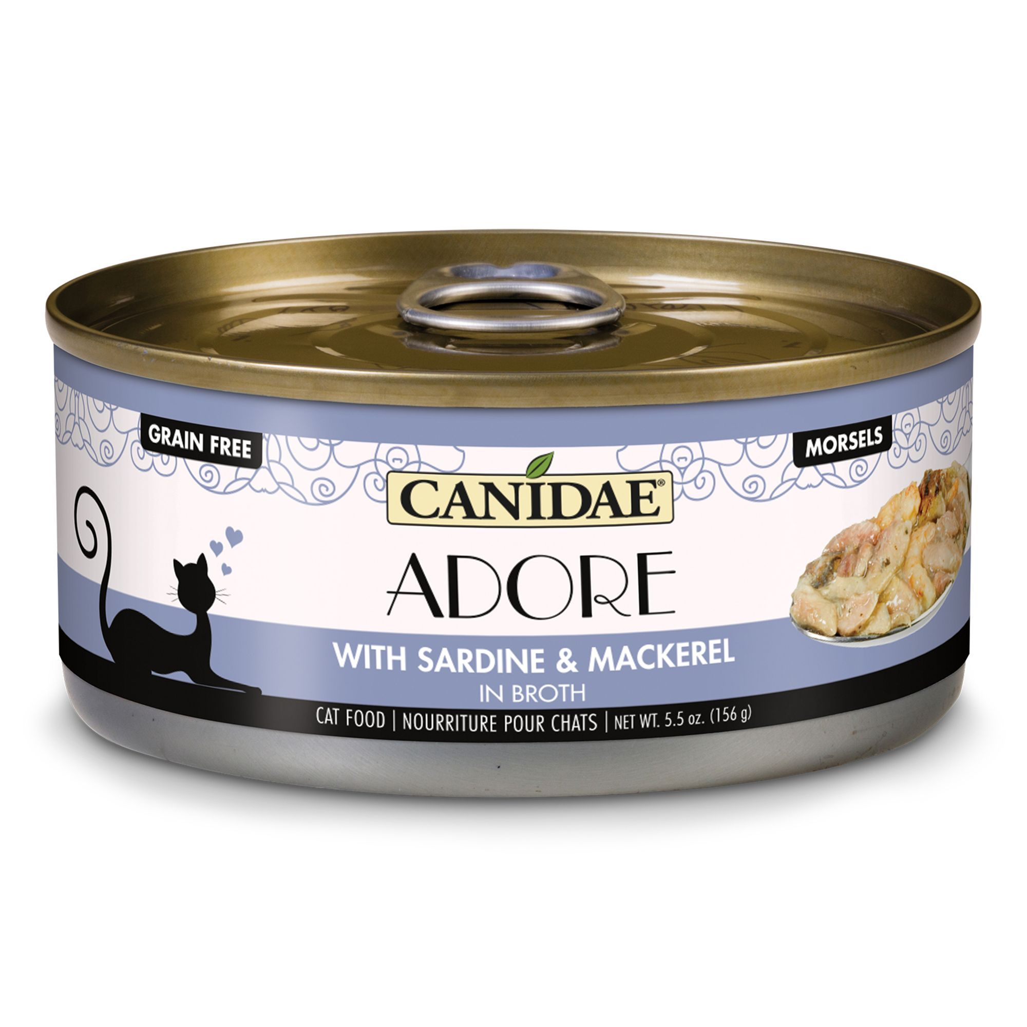 Canidae adore morsels wet cat food natural grain free