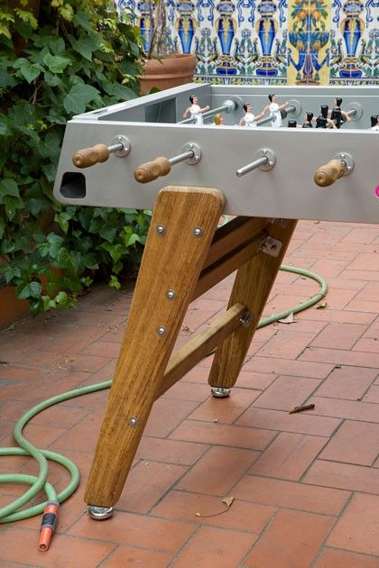 DomésticoShop - Futbolín RS 3 Wood Inox
