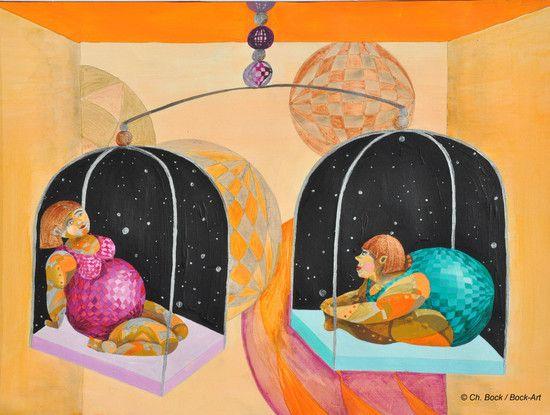 Sternzeichen Waage, Bock-Art, Christine Bock