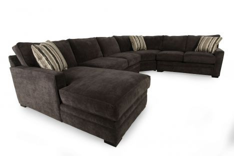 Jlo 4pc Storm Jonathan Louis Juno Sectional Mathis Brothers