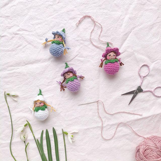 Photo of Ein Häkelmuster für zuckersüße Blütenkinder