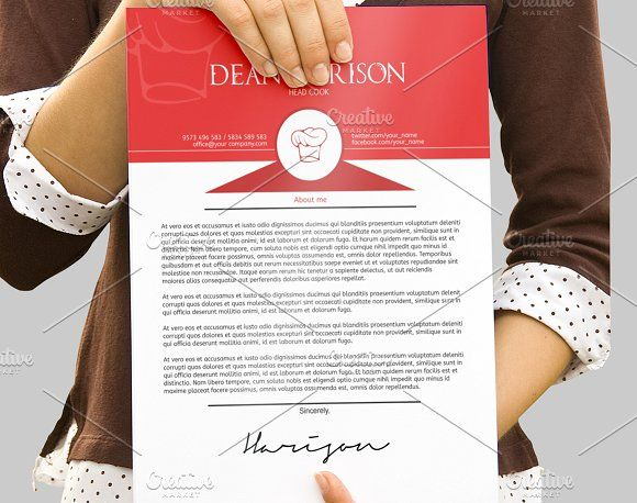 This cook professional resume will help you get noticed! The package